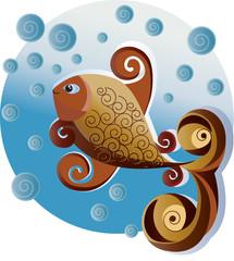 Peixe ornamental