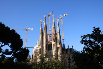 Sagrada Familia Gaudi, Barcelona