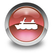 "Red Glossy Pictogram ""Cruise Liner"""