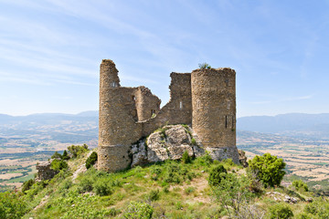 Medieval castle of Orcau, Catalonia, Spain