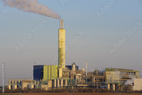 Waste incineration plant, Biebesheim, Germany