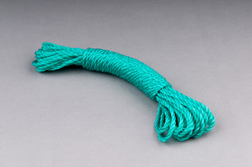Colourful rope isolated on the  background