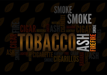 Wordcloud of cigar tobacco