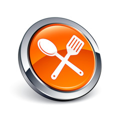 icône bouton internet cuisine