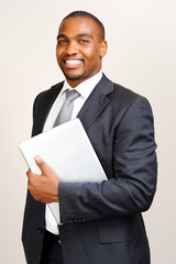 Successful black businessman