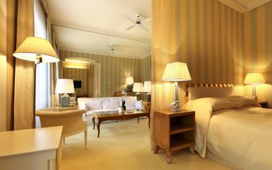 suite di hotel di lusso, interno, nessuno in giro