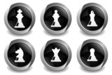 Chess Black Button