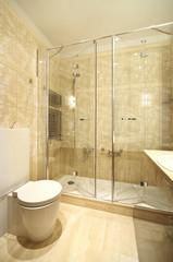 bagno moderno e cesso pulito