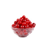 fresh cherry in the bowl