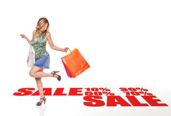 sale shopping