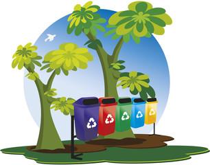 Coleta de lixo para reciclagem