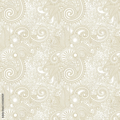 vintage ornate seamless pattern