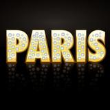 Paris 18 carats poster