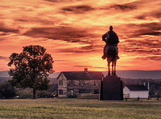 Stonewall Jackson at Manassas Battlefield