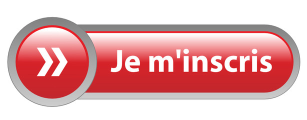 "Bouton Web ""JE M'INSCRIS"" (inscription s'inscrire abonnement)"