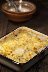 Potato gratin dauphinoise