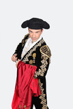 Man dressed as a matador