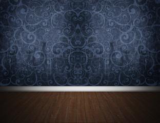 The Dark Blue Room