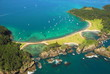 Aerial - Roberton Island, Bay of Islands, New Zealand