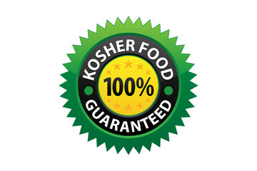 Kosher Food Guaranteed Label