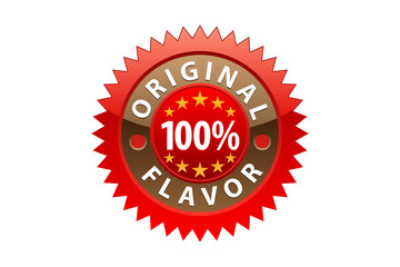 Original Flavor Label