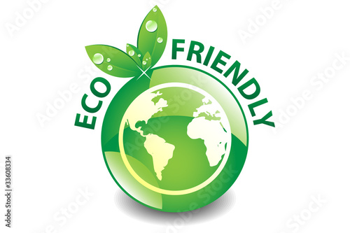 Eco Friendly Button