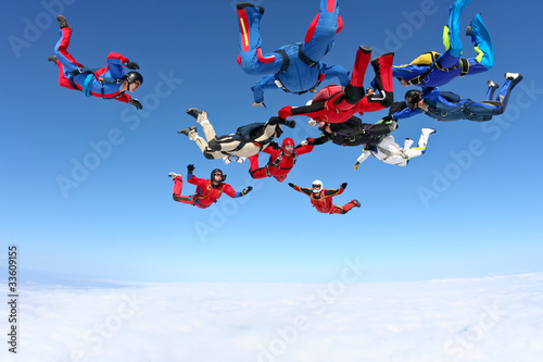Skydiving photo - 33609155