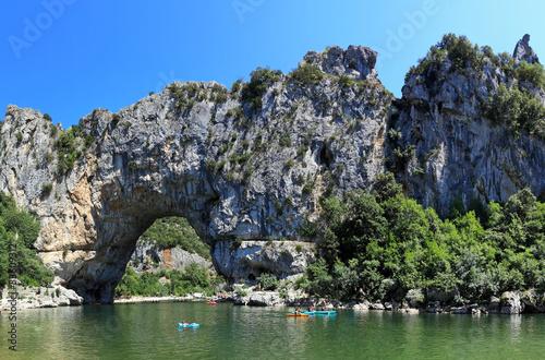 Pont D´Arc in den Schluchten der Ardeche in Frankreich