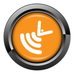 Picto, internet, bouton, ondes, satellite, émission, radio