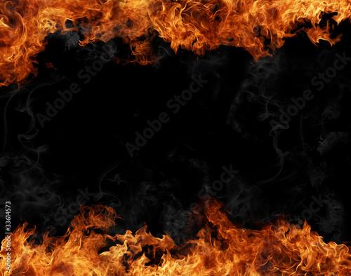 In de dag Vuur / Vlam Fire frame