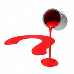 Paint Can - Question Mark