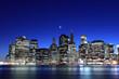 New York City at Night Lights, Lower Manhattan