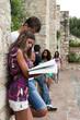 Giovani studenti al Campus