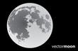 vector moon - 33617128