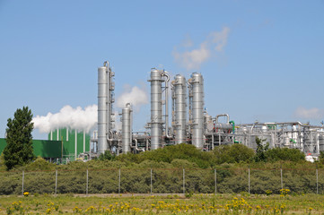 Bio ethanol plant