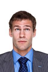Businessman expression