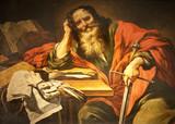 Saint Paul paint from Paris - St. Severin church