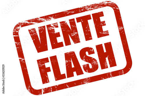 Grunge stempel rot vente flash photo libre de droits sur la banqu - Vente flash ordinateur ...