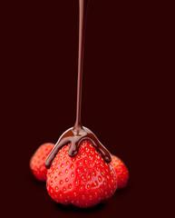 Chocolate strawberry, composing