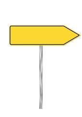 Schild: Richtung