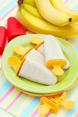 banana ice creams