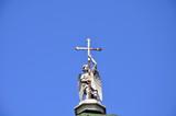 Angel with a cross.Kuskovo poster