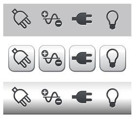 Prise électrique et ampoule