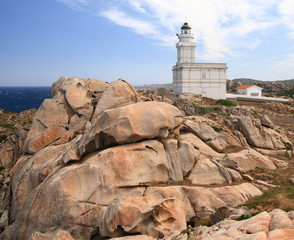 Faro di Capo Testa, Sardegna