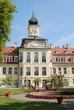Gohliser Schloss Sommer leuchtend