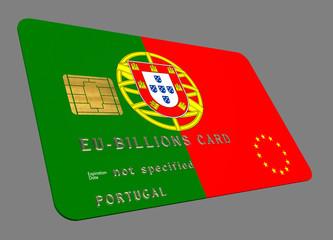 Portugal EURO Credit Card