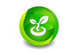 Green Bud Icon