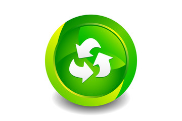 Green Recycle Icon