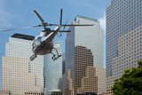 Helicopter Manhattan financial district