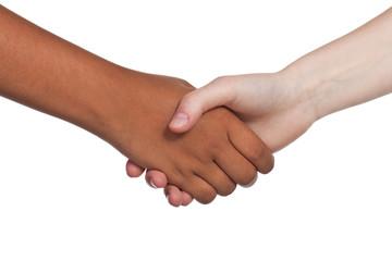 handschlag zur begrüßung